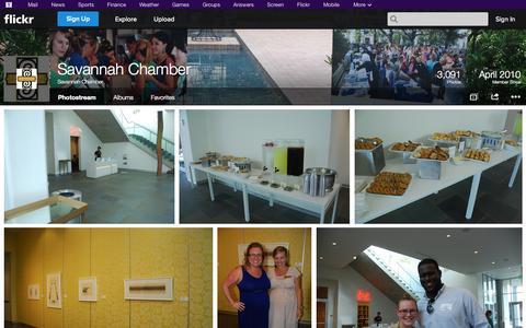 Screenshot of Flickr Page flickr.com - Flickr: Savannah Chamber's Photostream - captured Oct. 23, 2014