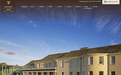 Screenshot of Jobs Page castlemartyrresort.ie - Careers, Jobs & Employment Opportunities at Castlemartyr 5 Star Resort - captured Sept. 29, 2014