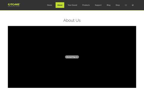 Screenshot of About Page otoneaudio.co.uk - About Us - OTONE Audio - Sound with Vision - captured Oct. 26, 2014