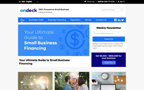 Blog | OnDeck