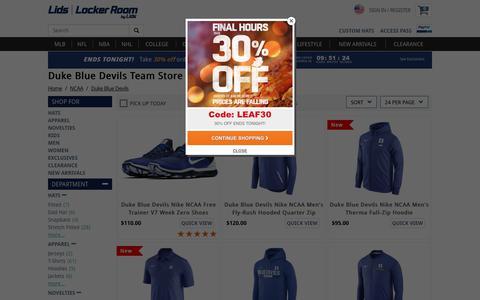 Duke Blue Devils Team Store - Duke Hats & Fan Gear | lids.com