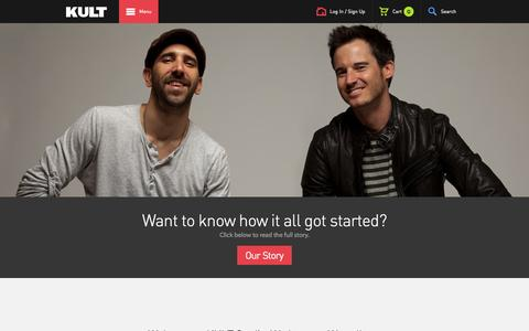 Screenshot of About Page kultstudio.com - KULT Studio   About - captured Sept. 24, 2014