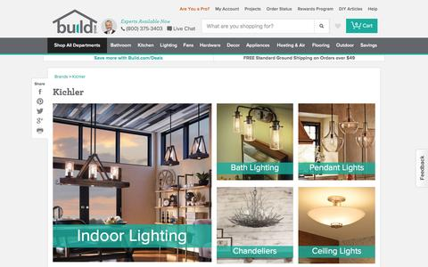 Kichler Lighting and Ceiling Fans - Build.com