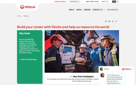 Build your career with Veolia and help us resource the world | Veolia North America