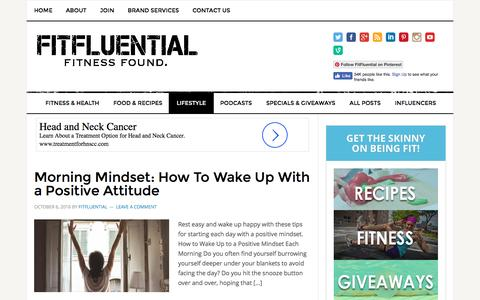 Lifestyle Archives - FitFluential