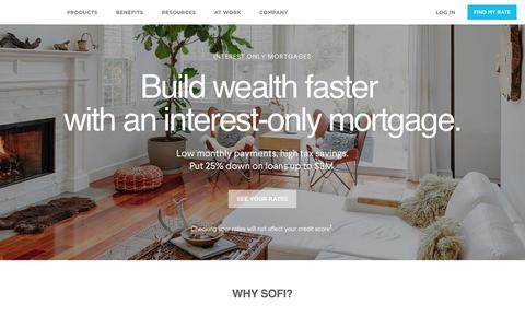 Interest Only Mortgages | SoFi Home Loans