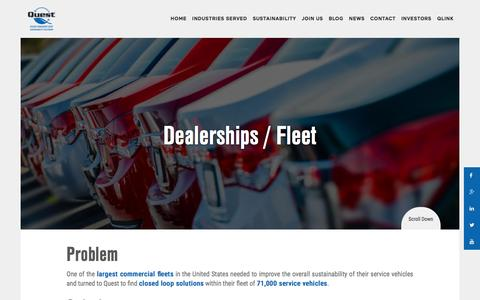 Dealerships - Fleet - Quest Resource Management Group