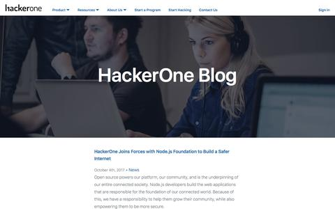 HackerOne Blog: Latest Updates and Insights About HackerOne