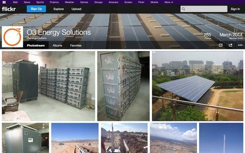 Screenshot of Flickr Page flickr.com - Flickr: o3energysolutions' Photostream - captured Oct. 27, 2014