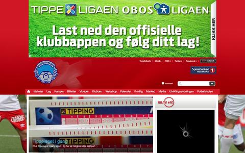 Screenshot of Home Page kil.no - Hjem  | Kongsvinger - captured Feb. 12, 2016