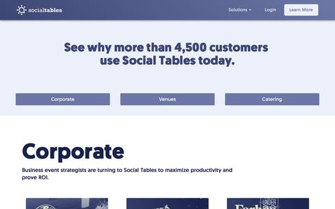 Social Tables Customers | Event Planner Testimonials | Social Tables