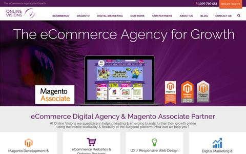 Magento Enterprise Partner |  eCommerce Agency | Online Visions