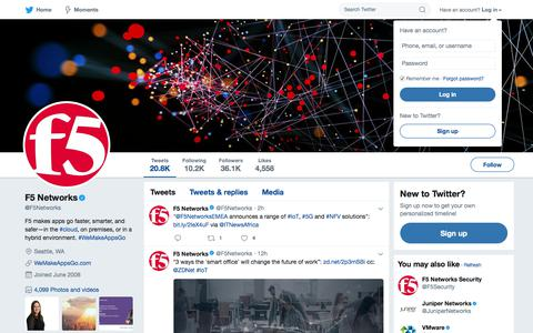 F5 Networks (@F5Networks) | Twitter