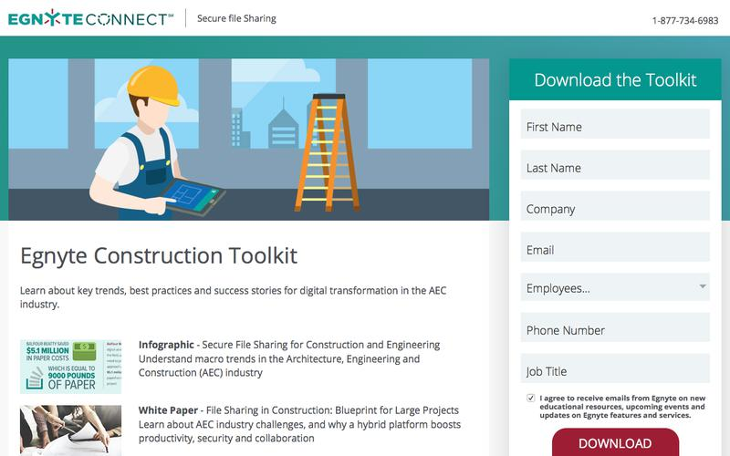 Egnyte Construction Toolkit