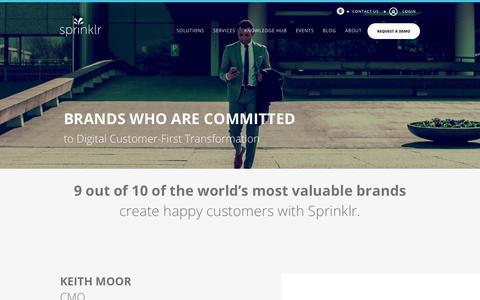 Sprinklr Clients - Most Social Global Brands