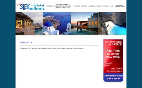 Screenshot of Products Page starhellenic.gr - -: Grand Star Hellenic :- - captured Oct. 3, 2014