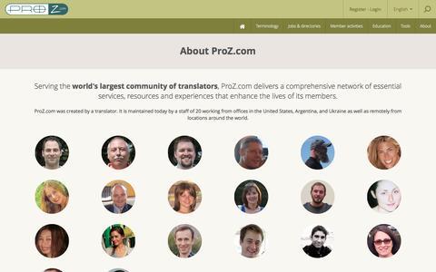 About ProZ.com - Company Overview