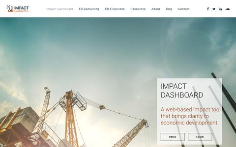 Impact DashBoard – Impact DataSource