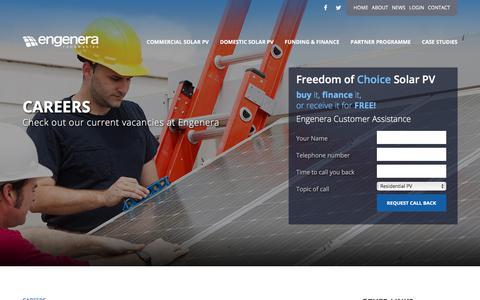 Screenshot of Jobs Page engenera.com - Careers - Engenera - captured July 10, 2017