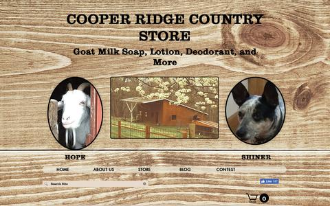 Screenshot of Testimonials Page cooperridgecountrystore.com - Customers love my goat milk soap, goat milk lotion, lip balm, salves.. - captured Nov. 2, 2018