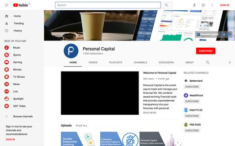 Personal Capital - YouTube - YouTube
