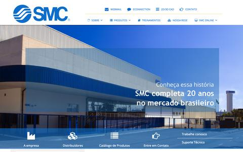 Screenshot of Home Page smcbr.com.br - SMC BR | SMC BR - captured Sept. 30, 2018