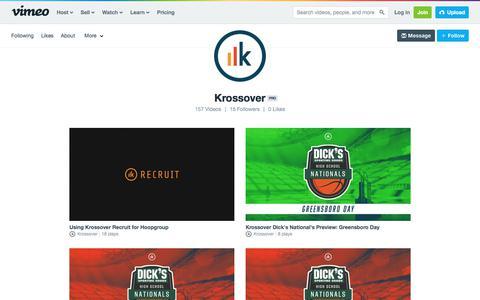 Krossover on Vimeo