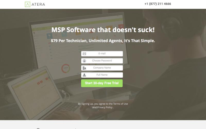 The Only Modern MSP Software