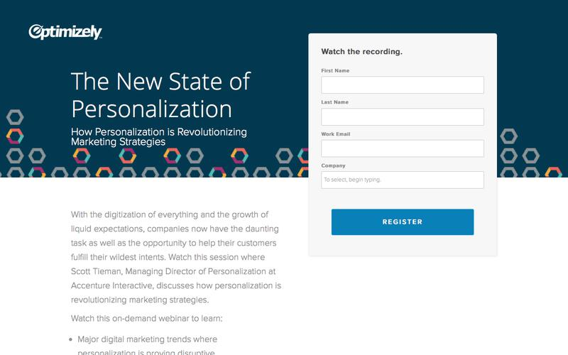 The New State of Personalization