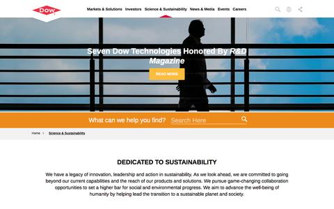 Science & Sustainability | Dow