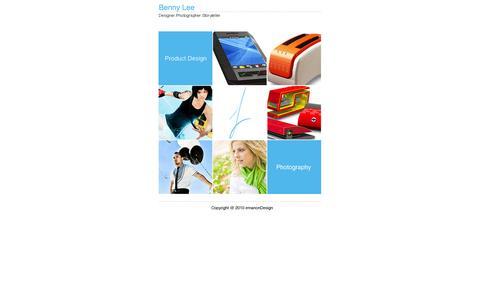 Screenshot of Home Page emanondesign.com - emanonDesign - captured Oct. 5, 2014