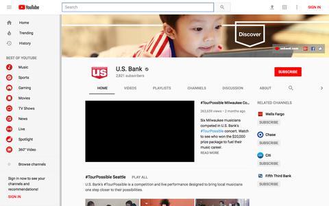 U.S. Bank - YouTube