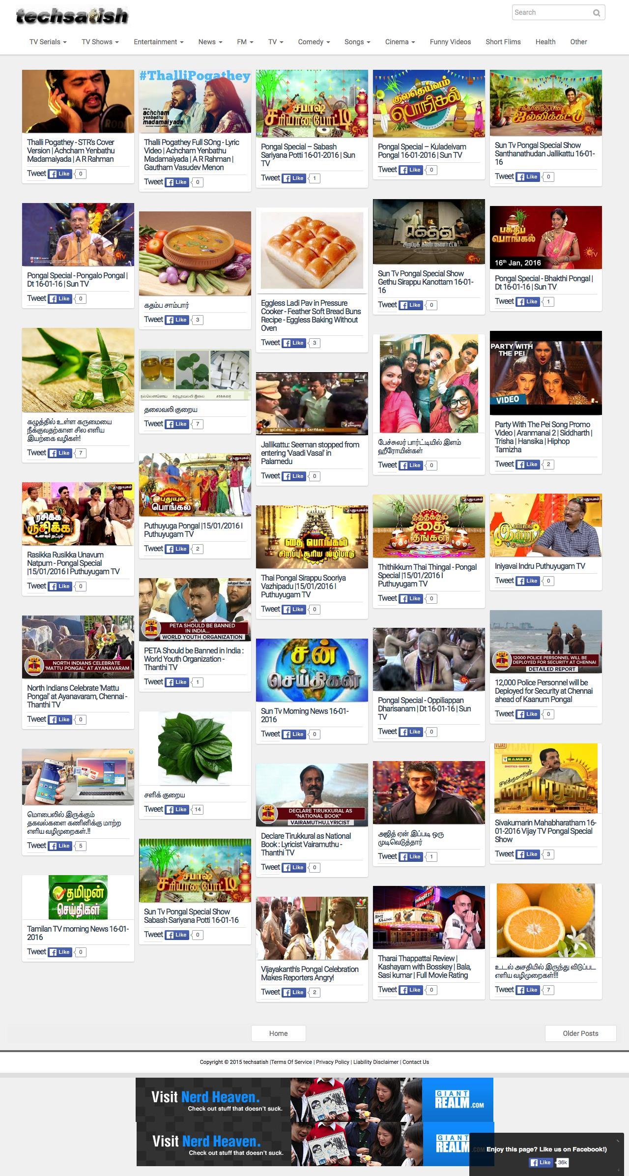 tamil tv shows watch online