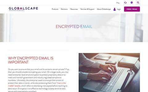 Encrypted Email | Globalscape