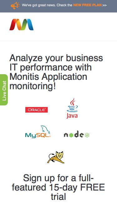 Application Performance Monitoring - Monitis