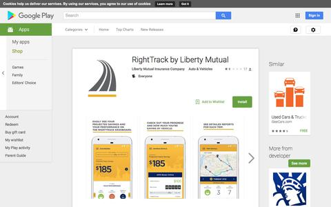 RightTrack by Liberty Mutual - Android Apps on Google Play