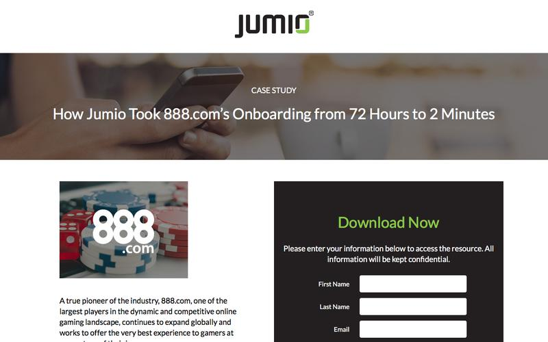 How Jumio Took 888.com's Onboarding from 72 Hours to 2 Minutes
