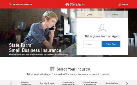 Small Business Insurance - State Farm®