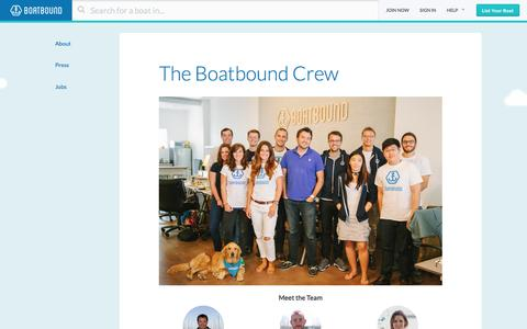 Team | Boatbound