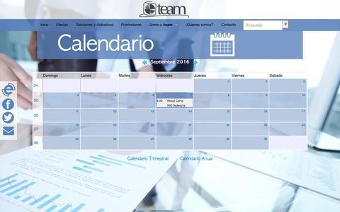 Screenshot of Team Page teamnet.com.mx - | team - captured Sept. 27, 2016