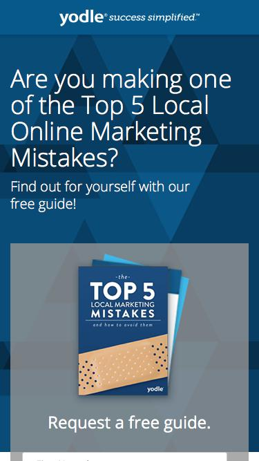 Top 5 Mistakes of Local Marketing