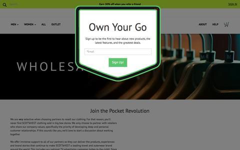 Wholesale SCOTTeVEST - SCOTTeVEST Reseller
