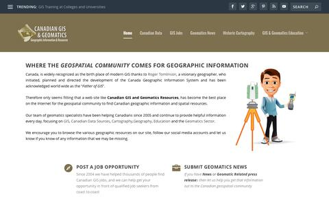 Canadian GIS and Geomatics