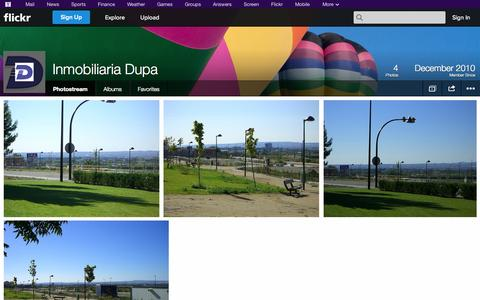 Screenshot of Flickr Page flickr.com - Flickr: Inmobiliaria Dupa's Photostream - captured Oct. 23, 2014