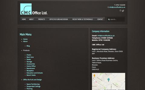 Screenshot of Site Map Page cmcofficeltd.co.uk - Site Map - captured Oct. 1, 2014
