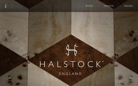 Screenshot of Home Page halstock.com - Halstock - captured Oct. 1, 2014