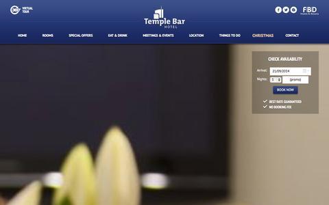 Screenshot of Privacy Page templebarhotel.com - Hotel Dublin,  Hotels in Dublin, Temple Bar Hotel Dublin - captured Sept. 23, 2014