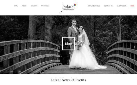 Screenshot of Blog jenkins-photography.co.uk - Blog - Jenkins Photography - captured June 8, 2017