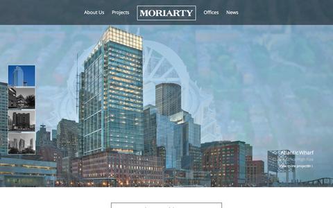 Screenshot of Home Page jm-a.com - Homepage - John Moriarty & Associates - captured Nov. 27, 2016