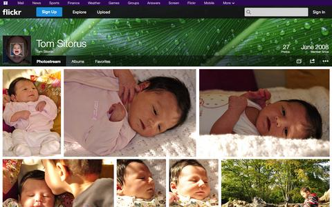 Screenshot of Flickr Page flickr.com - Flickr: Tom Sitorus' Photostream - captured Oct. 26, 2014